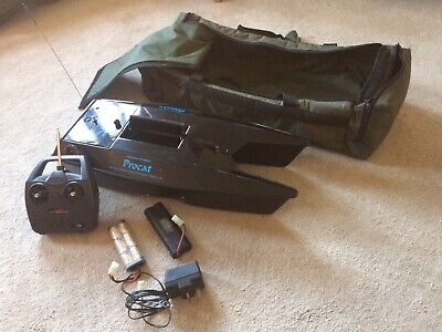 Angling Technics Procat Bait Boat With Extras • 106£
