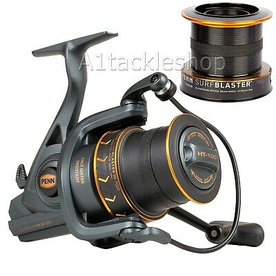 Penn Surfblaster III Longcast 8000 LCEU Sea Fishing Fixed Spool Reel Mk3 & Spool • 139.95£