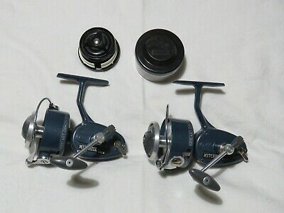 Pair Of Vintage Mitchell 410A Reels • 26£