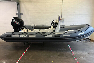 'NEW'  BRIG Falcon 450HS Safety Boat Rib - Suzuki 40hp Four-stroke Outboard • 14,995£