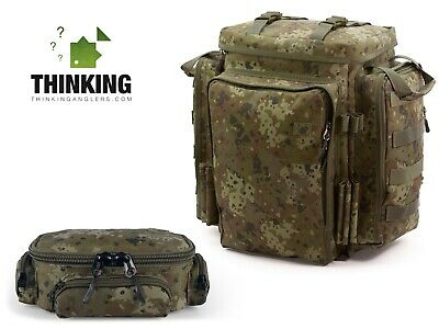 Thinking Anglers Compact Tackle Pouch + Camfleck Rucksack - BRAND NEW - Free P&P • 99.95£
