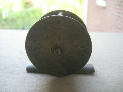 Vintage Miniature Brass Fishing Wheel 227BURSBATT19 • 10£