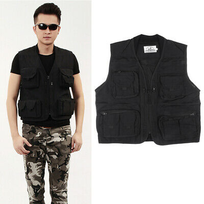 Unisex Outdoor Fishing Vest With 4 Practical Pockets, Various • 14.49£