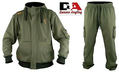 Fox Superweight Green Hoodie & Joggers All Sizes NEW Carp Fishing Clothing • 49.99£