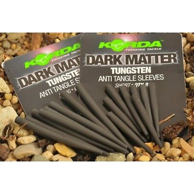 Korda Dark Matter Anti Tangle Tungsten Sleeves *Short Or Long* NEW Carp Fishing • 4.99£