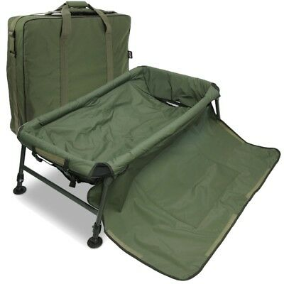 Carp Fishing Unhooking Cradle Mat ,Folding Legs + Cradle Bag NGT • 79.95£