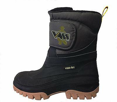 VASS Boots Fleece Lined With Strap - VS150-50 NEW Carp Fishing Footwear • 59.99£