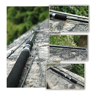 Clearance 10' Feeder Match Carp Leger Quiver Rods With 3 Tips Special Offer • 12.99£
