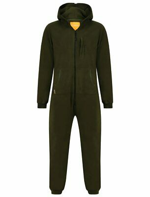 Navitas New Style Fleece Rompa Green One Piece Suit *All Sizes* NEW Carp Fishing • 40.49£