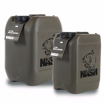 Nash Shatterproof Water Container *5L Or 10L* NEW Carp Fishing • 11.99£
