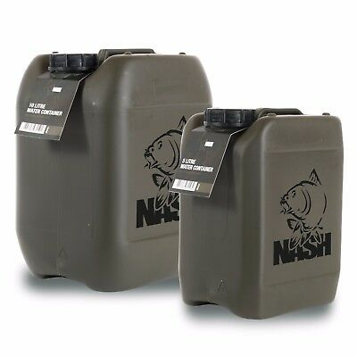 Nash Shatterproof Water Container *5L Or 10L* NEW Carp Fishing • 10.49£