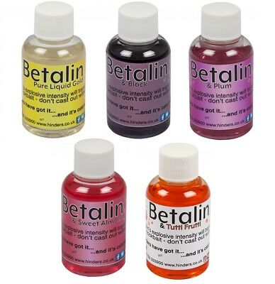 Hinders Betalin 50ml *All Flavours* NEW Carp Fishing Bait Liquid Sweetner • 11.99£