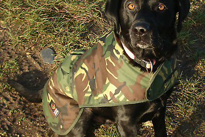Cotswold Aquarius Canine Quilted Rain Jacket *All Sizes* NEW DPM Camo Dog Coat • 32.99£