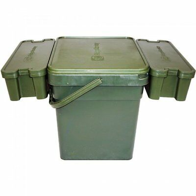 Ridgemonkey Modular Bucket & Trays *All Sizes* Bait Bucket NEW Carp Fishing • 17.90£