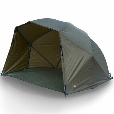 Ngt Fishing Brolly Bivvy System With Bivvie Pegs And Ground Sheet Carp Tackle • 149.95£