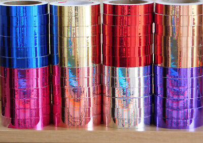 Mirror Finish Tape - Self Adhesive - Hoop Tape - Lures - 20mm Wide X 10m Long • 5£