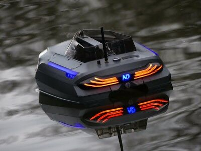 Single Hand RC Bait Boat Bluetooth Remote Control GPS Autopilot With Deluxe Bag • 950£