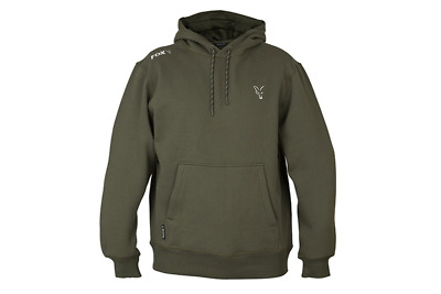 Fox Collection Green/Silver Hoodie *NEW 2019* • 34.99£