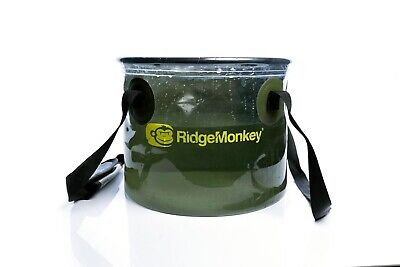 Ridgemonkey Perspective Collapsible Bucket 10L Litre Fishing Bucket NEW - RM296 • 12.90£