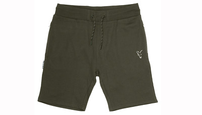 Fox Collection Lightweight Jogger Shorts Green/Silver • 15.99£
