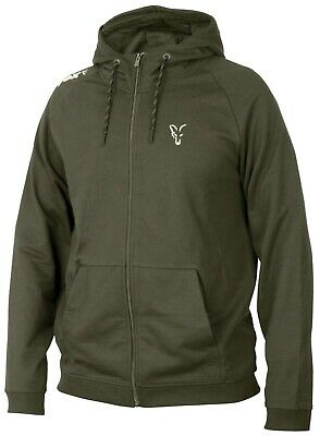 Fox Collection Green Silver Lightweight Hoody *ALL Sizes* Fishing NEW • 24.99£