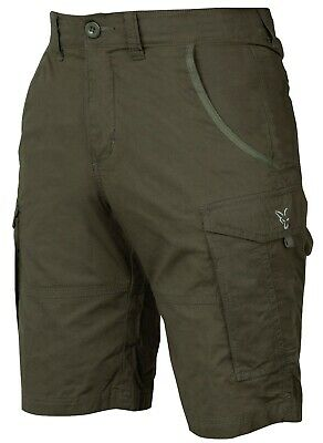 Fox Collection Short Combats Green Silver *All Sizes* Fishing Clothing NEW • 24.99£