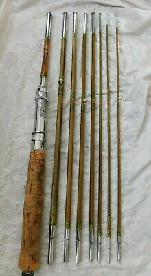 Vintage Weiss Fishing Tackle Travel Rod Set • 14.99£