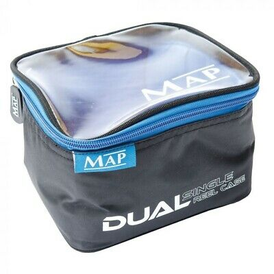 MAP Dual Reel Case NEW Coarse Fishing Luggage - H6508 • 11.99£