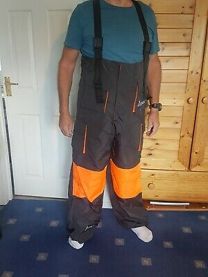 UMAX Survival Suit-fishing Overal Floatation And Vis. Worn Once Mint Condition. • 75£