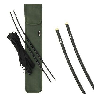 Distance Marker Sticks With Glow In The Dark Tips 12ft String And Storage Case • 12.95£