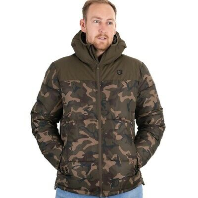 Fox Camo Khaki RS Jacket NEW Carp Fishing Clothing *All Sizes* • 79.99£