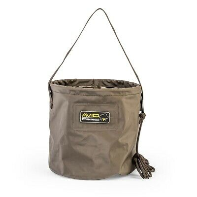 Avid Carp Stormshield Collapsible Bucket NEW Fishing Collapsible Bucket • 14.99£