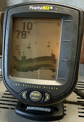 Hummingbird PirhanaMAX 15 Fishfinder / Depth Unit With Cables And Serial Number • 15.77£