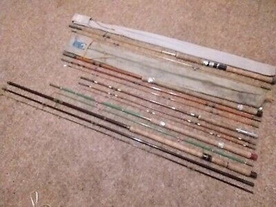 Vintage Fishing Rods X 5 - All Named • 34.99£