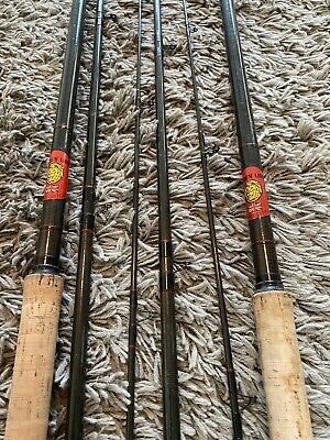 Golden Lion Carbon Fibre Match Fishing Rod 12ft Hand Built Fishing Rod & Extra • 29.99£