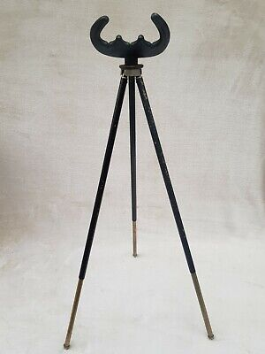 Vintage Efgeeco Extending Tripod Fishing Rod Rest • 19.50£