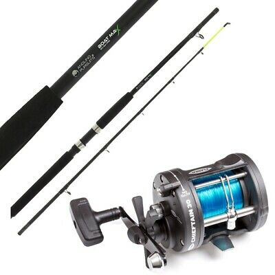 Tronixpro Charter 8ft  Boat Rod 20-30lb 2pce by AXIA