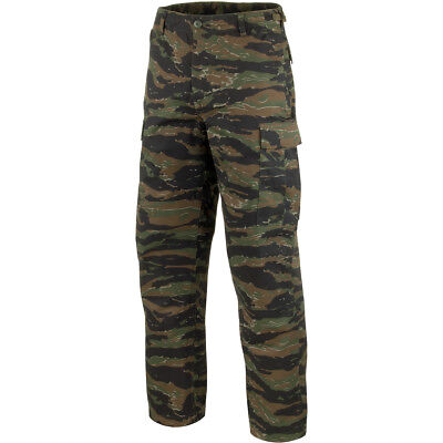 Tactical Military Combat Cargo Mens Trousers Pants Work Wear Tiger Stripe Camo • 21.95£