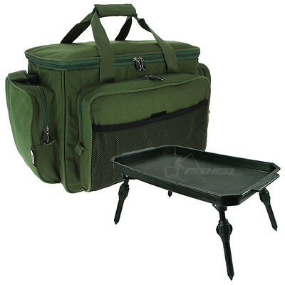 Fishing Tackle Bag & Bivvy Table Lightweight Extendable Legs Terminal Tackle NGT • 24.95£