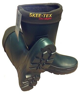 New Skee-Tex Skeetex Ultralight Lightweight Welly Boots Wellies - All Sizes • 37.90£