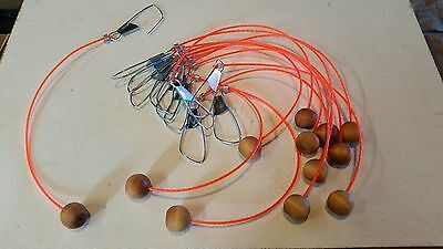 Fish Ballz Live Well Floating Stringers  Set Of 12 • 18.52£