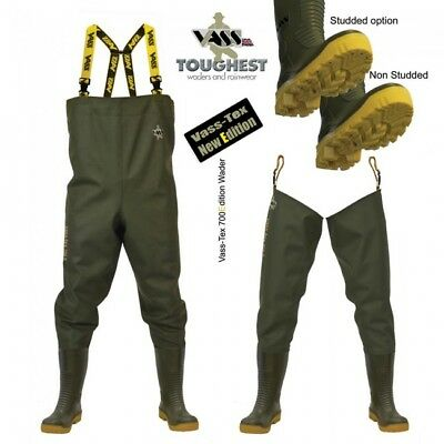 Vass 700 Series Chest And Thigh Waders Non Studded Or Studded • 69.99£