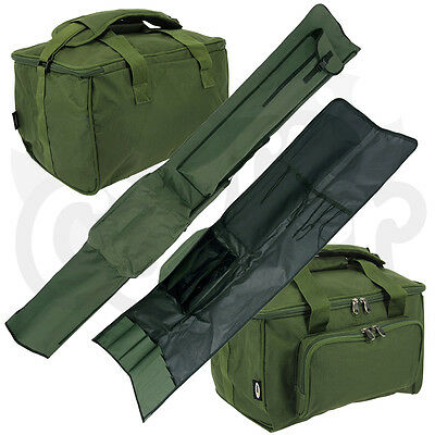 NGT Carp Fishing Padded 3 + 3 Rod Holdall For 12ft Rods Tackle Carryall Bag Set • 46.38£