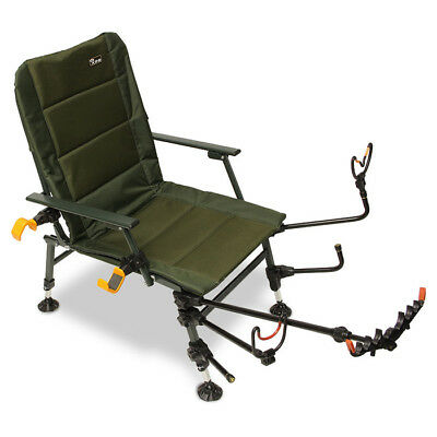Feeder Fishing Chair Arm Accessories Pack With Rod Rests Pole Rest Fishing Set • 95.23£