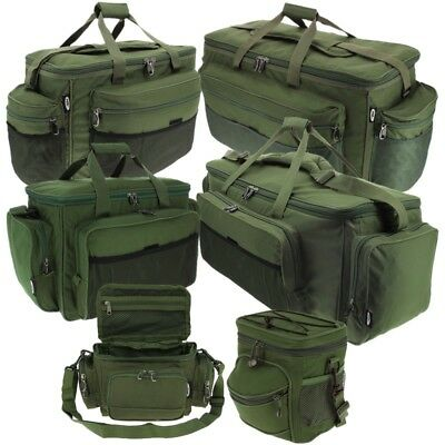 Ngt New Fishing Bags Carryalls Brew Bag Bait Tackle Bags Large Holdalls • 19.95£