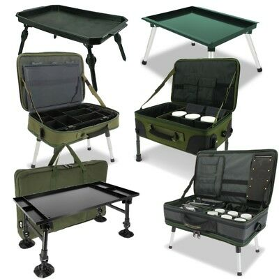 New Fishing Bivvy Tables Systems Large Bivvy Table For Terminal Tackle Ngt • 37.95£