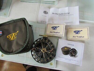 Rare Garry Mills Mill Tackle Millstream Centrepin Fishing Reel Unique RHW Or LHW • 849.99£