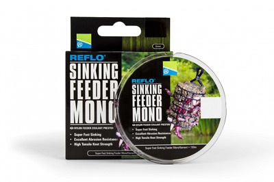 Preston Innovations Reflo Sinking Feeder Mono Line 150m - All Diameters • 5.99£
