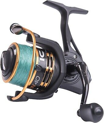 Leeda Icon Spin Reels - Fully Loaded With 20b Braid - Sizes 40 & 50 • 34.95£