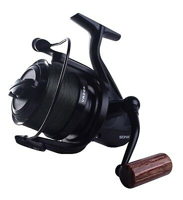 Sonik Vader X 8000RS Spod Reel - Loaded With 200m/30lb Braid (VXR080RSPD) • 49.95£